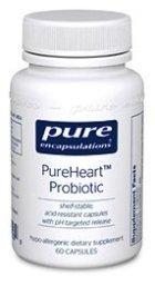 Pure Heart Probiotic has Lactobacillus reuteri NCIMB 30242