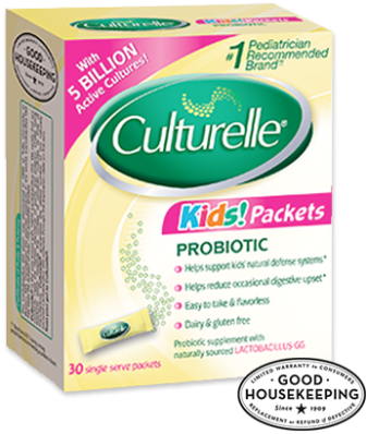 Culturelle Kids Chewables Daily Probiotic Formula, One Per Day Dietary Supplement, Contains % Naturally Sourced Lactobacillus GG –The Most Clinically .