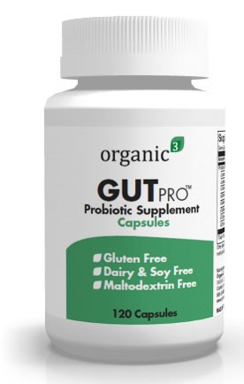"GutPro by Organic3: A ""Clean"" Multi-Strain Probiotic Supplement"