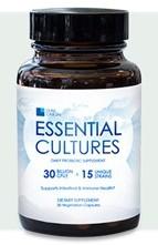 Leaf Origin Essential Cultures is a multi-species probiotic supplement