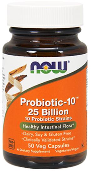 NOW Probiotic 10