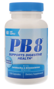 PB8 Contains 8 Different Probiotics
