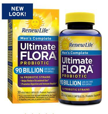 Renew Life Ultimate Flora Men's Complete