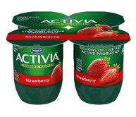Activia Yogurt Products with Added