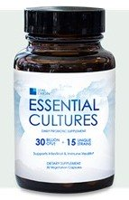 Leaf Origin Essential Cultures is a multi-species probiotic supplement