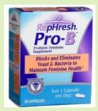 Lactobacillus rhamnosus GR-1 and L. reuteri RC-14 are in RepHresh Pro-B
