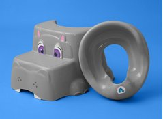The Squatty Potty reduces the strain of going to the bathroom